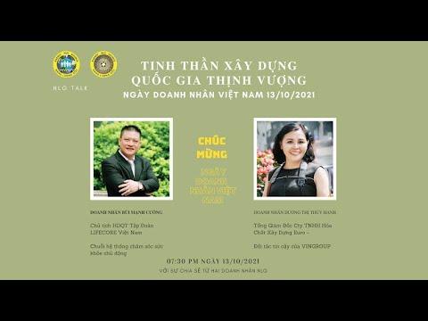 NLG Talk-shows: Ngày Doanh Nhân Việt Nam 13/10/2021