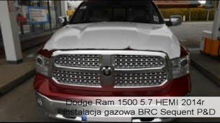 LPG BRC do Dodge Ram 1500 5.7 HEMI 2014r - Autogaz do V8