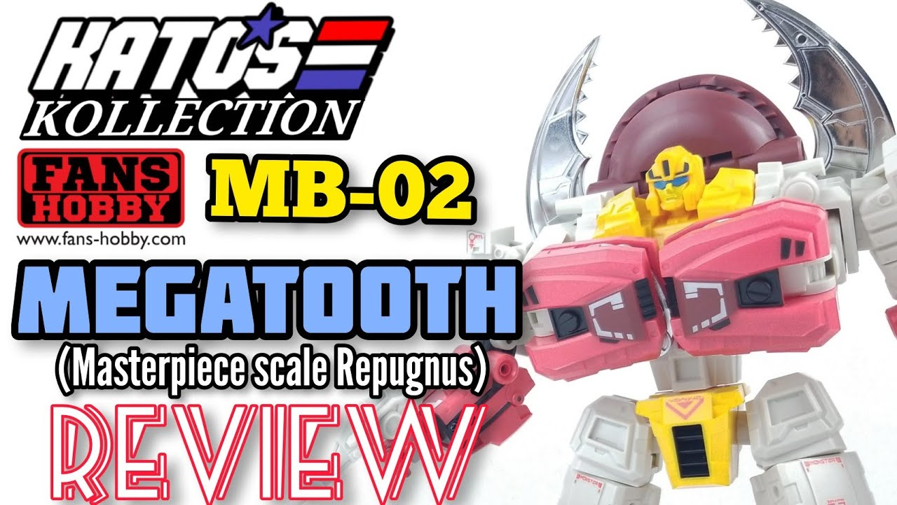 Fans Hobby MB-02 MEGATOOTH (Repugnus) Review by Kato's Kollection