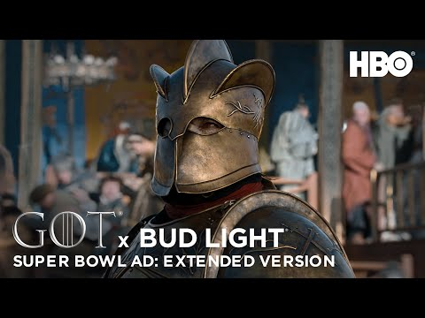 Game of Thrones X Bud Light | Official Super Bowl LIII Ad | Extended Version | HBO