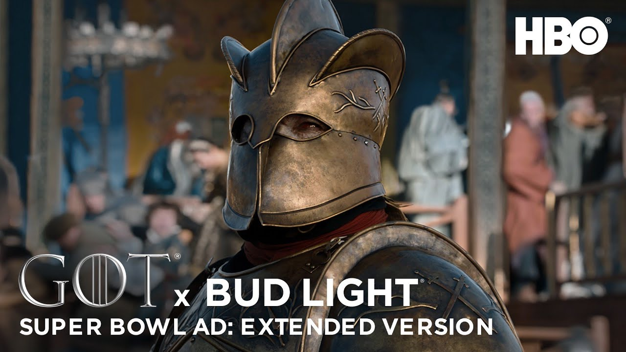 Why Bud Light's Knight was killed by HBO's Game of Thrones in Super Bowl ad