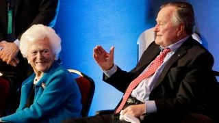 George HW Bush, Barabara Bush hospitalized