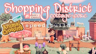 SHOPPING DISTRICT: SPEED BUILD // ANIMAL CROSSING NEW HORIZONS