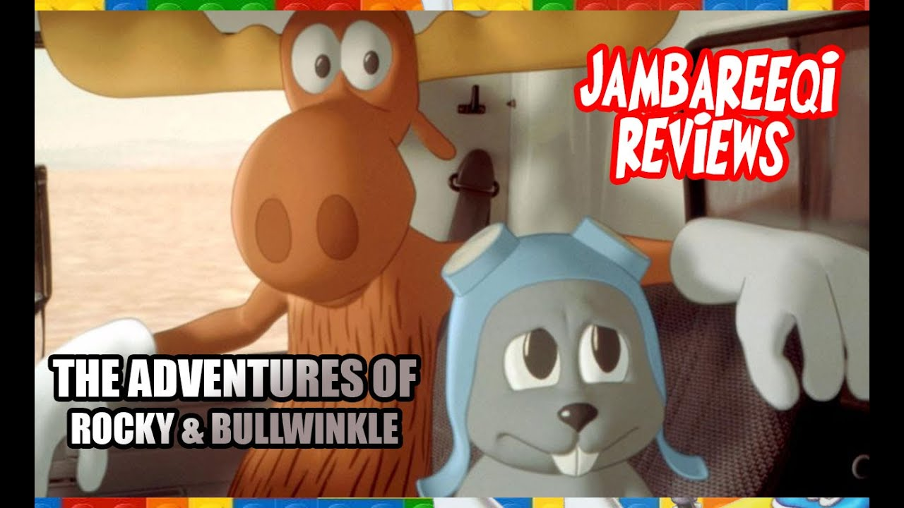"""Download """"Jambareeqi Reviews"""" - The Adventures of Rocky & Bullwinkle"""