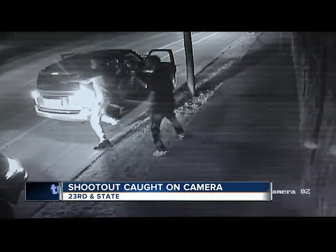 Deadly State St. shooting captured on surveillance video