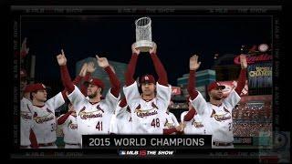MLB 15 The Show - St. Louis Cardinals World Series Celebration