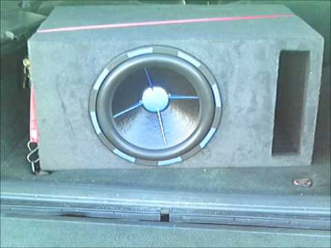 Power Acoustik Mofo 15 In A 4cu ft Box Tuned To 32hz Bamf 4000 Amp