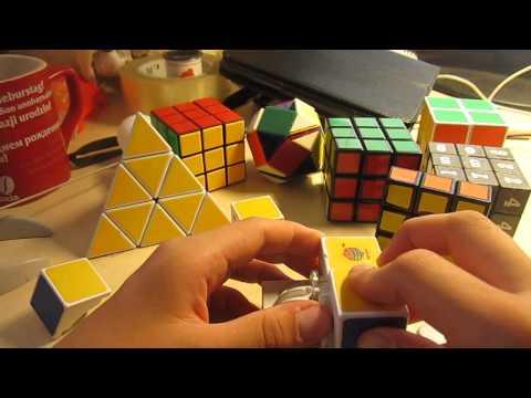 собрать и разобрать кубик рубик по чистям Цинделиани Имеда