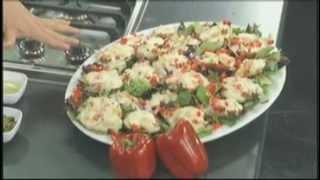 Home Cuisine's Portobello Pizzas