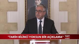 KKTC Başkanı Mustafa Akıncı'dan Skandal Açıklama