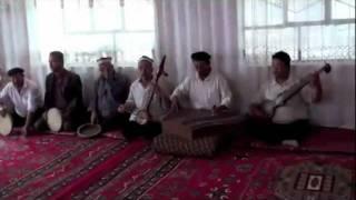 Makit Dolan Muqam Troupe performing in Makit, Xinjiang