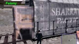 Driver 2 - las vegas train glitch
