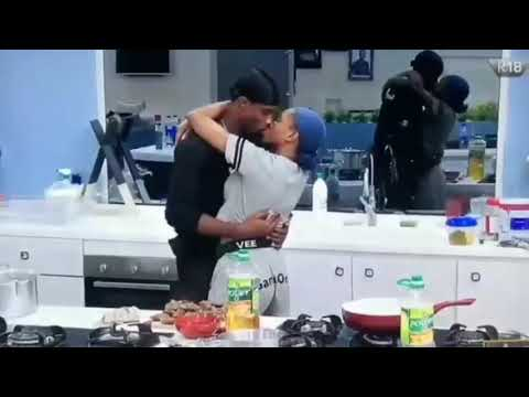 Download BBNaija Updates: Neo And Vee KISS Passionately To Celebrate Their Victory As Big Brother Naija Final