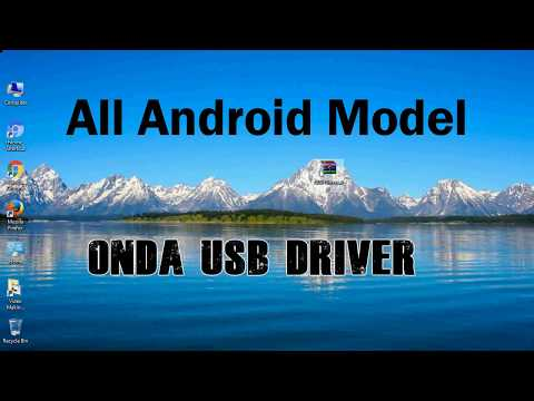 How To Install Onda USB Driver For Windows | ADB And FastBoot
