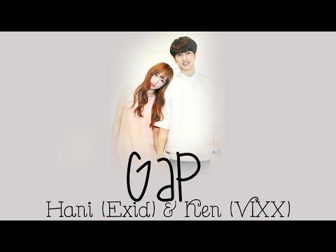Ken (VIXX) & Hani (EXID) - GAP (One by One) Lyrics [Rom/Eng/Han] 1080p