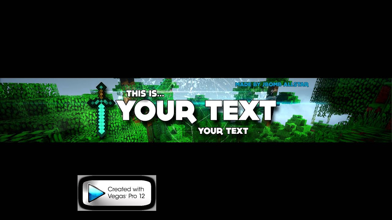 Hairstyle Youtube Download : Youtube Channeldesign/Kanalbanner Minecraft Style + DOWNLOAD ...