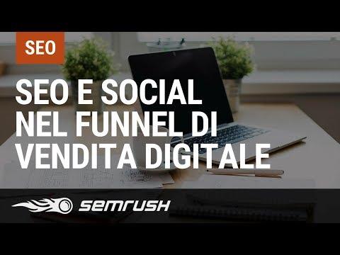 SEO e Social nel funnel di vendita digitale