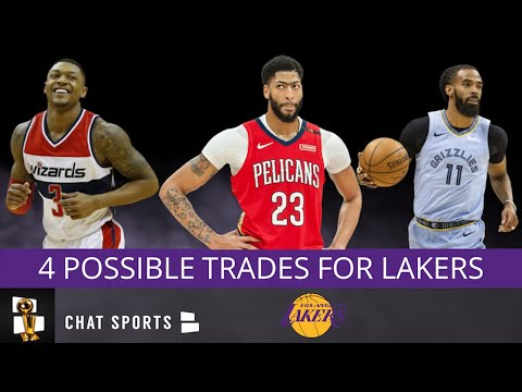 Lakers Rumors: 4 Possible Lakers Trades In Summer 2019 Ft: Anthony Davis, Bradley Beal & Mike Conley