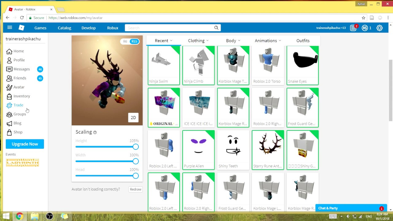 FREE RICH ROBLOX ACCOUNT 2018 YouTube