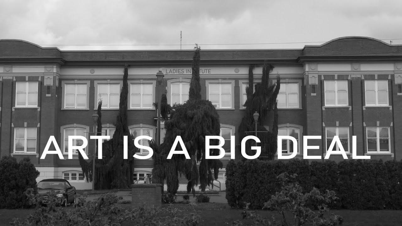 Art is a BIG deal!