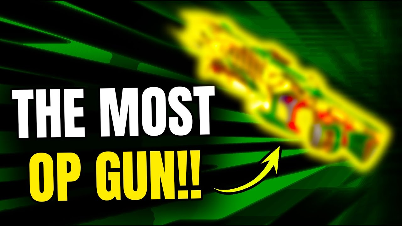 I DID NOT KNOW THIS GUN WAS SO OP!!