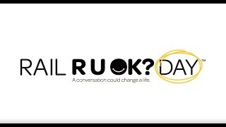 On Rail R U OK?Day join the Conversation Movement