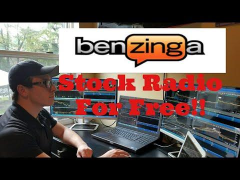 Benzinga Squawk Radio For Free ( Capture The Breaking News)