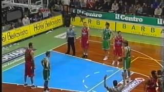 Cordivari Roseto - Benetton Treviso 89-76 [serie A 2000-2001]