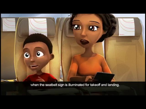 Kenya Airways Boeing 787 Dreamliner Safety Video
