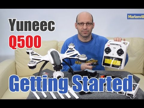 Yuneec Q500 Typhoon HD Drone, Setup, Calibration & Pre Flight How To Tutorial