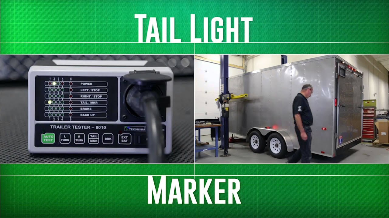 how to properly use the tekonsha 8010 trailer tester youtube