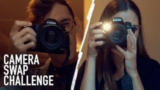camera swap challenge with brandon woelfel