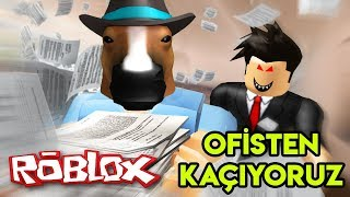 👨 💻 💻 👨 Fleeing From Office | Escape The Office Obby | Roblox English
