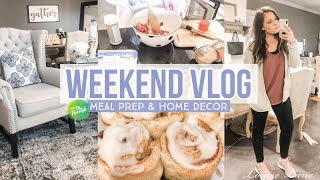 WEEKEND VLOG & MEAL PREP | WW FREESTYLE RECIPES
