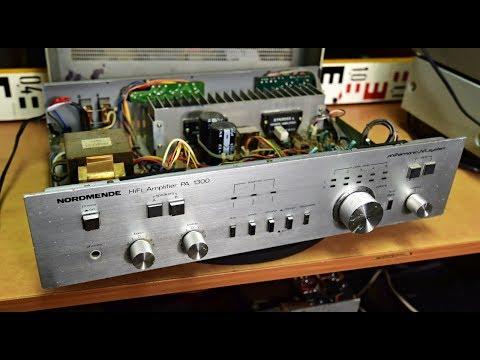 Nordmende PA 1300 Stereo Verstärker - Amplifier - Zesilovač