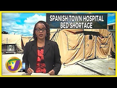 Jamaica's Covid Field Hospitals: Progress Report   TVJ News - Sept 10 2021