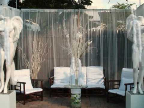 White party decoration 2010 youtube for All white party decoration
