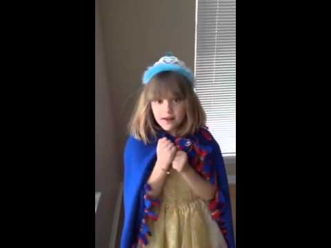 """""""Let It Go"""" sung by Angelina Rose Kmiec"""