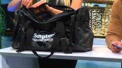 Xcase Canvas-Reisetasche im Handgepäckformat 55 x 40 x 20 cm, 44 Liter