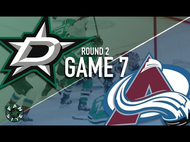Dallas Stars vs Colorado Avalanche | Game 7 | Round 2, 2020 Stanley Cup Playoffs