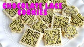 Chocolate Lace Cookies, Haniela's