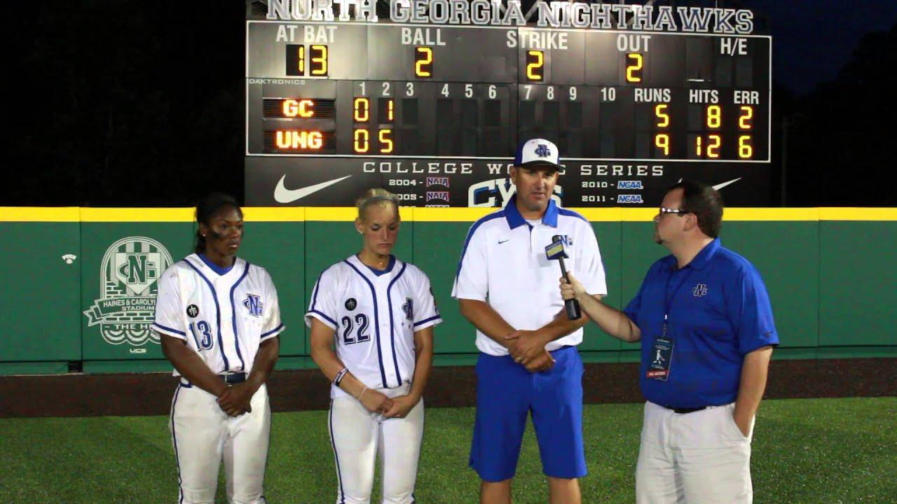 NCAA Softball Southeast Super Regional | Game One Postgame ...
