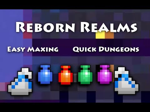 RotMG: Private Server | Reborn Realms | Easy Maxing | Quick Dungeons