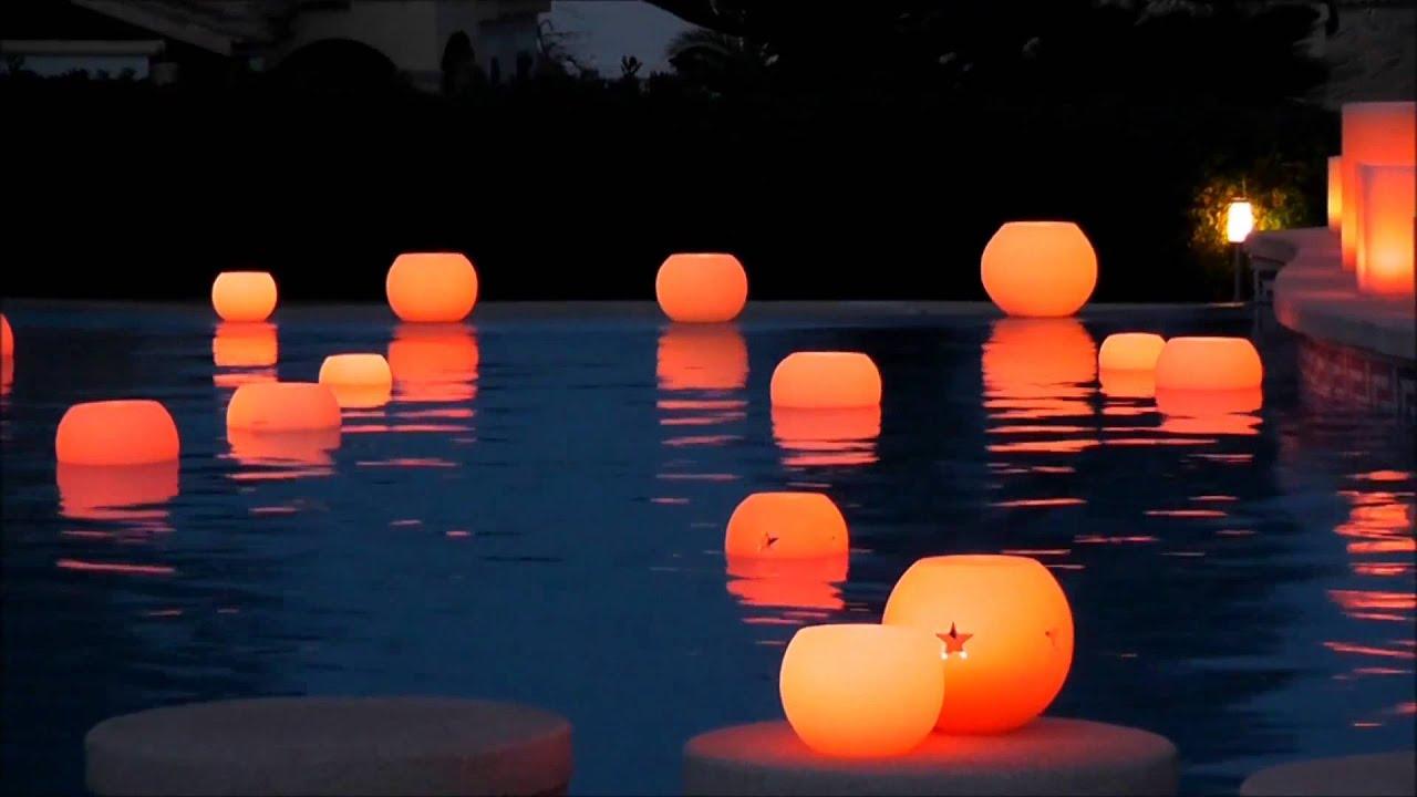bougies a led tlc flottante bougiesaled youtube. Black Bedroom Furniture Sets. Home Design Ideas