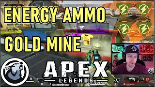 VISS ENERGY AMMO GOLDMINE!  w/ TANNERSLAYS and ANNEMUNITION APEX LEGENDS SEASON 3