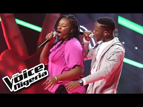 Benjamin vs Osuwake sing 'Left For Good' / The Battles / The Voice Nigeria 2016