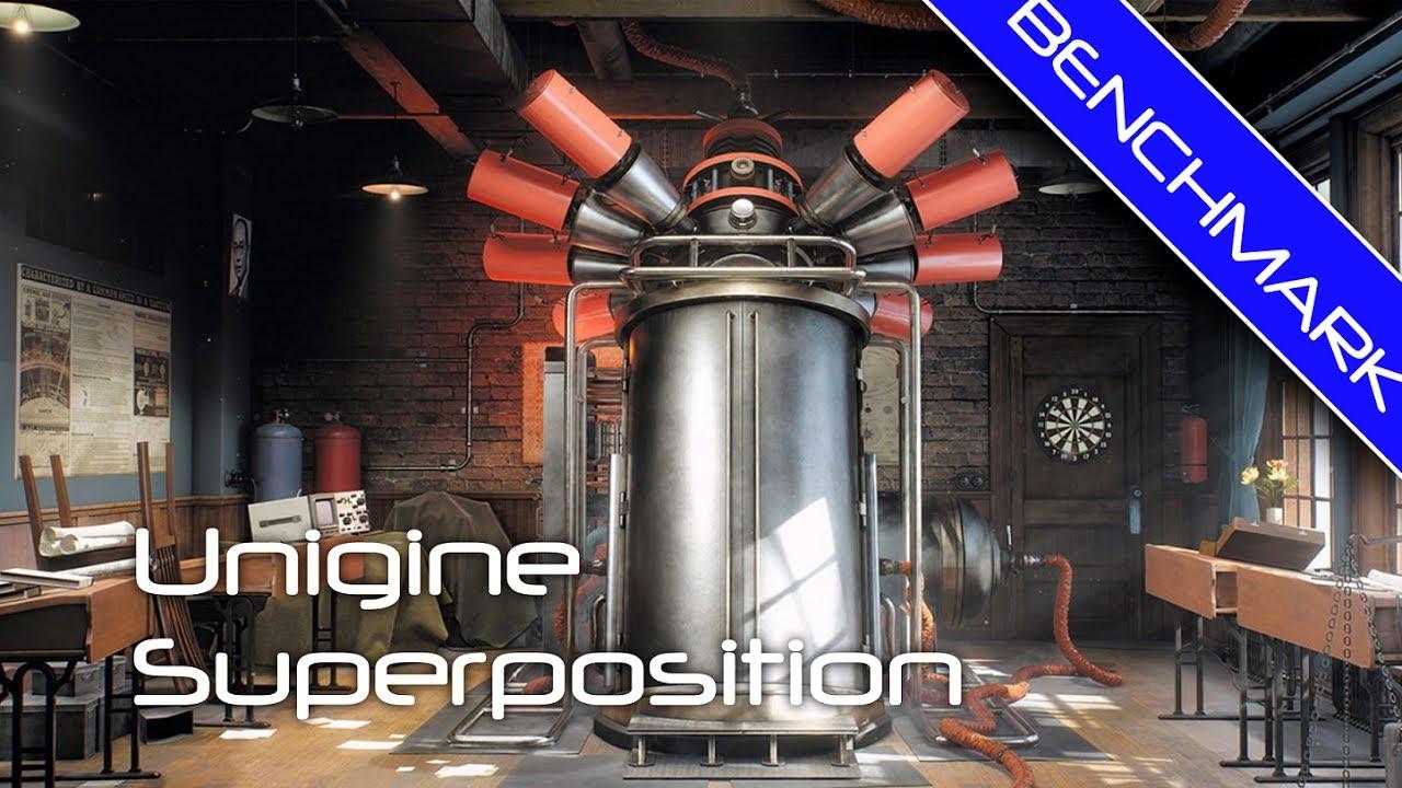 Superposition Benchmark v1 0 (2017) -- GTX1070 FE SLI - 1080p Medium  defaults