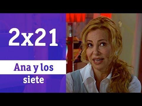 Ana y los siete: 2x021 - La primera vez   RTVE Series