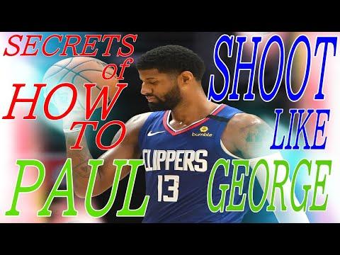paul george shooting form nba shooters