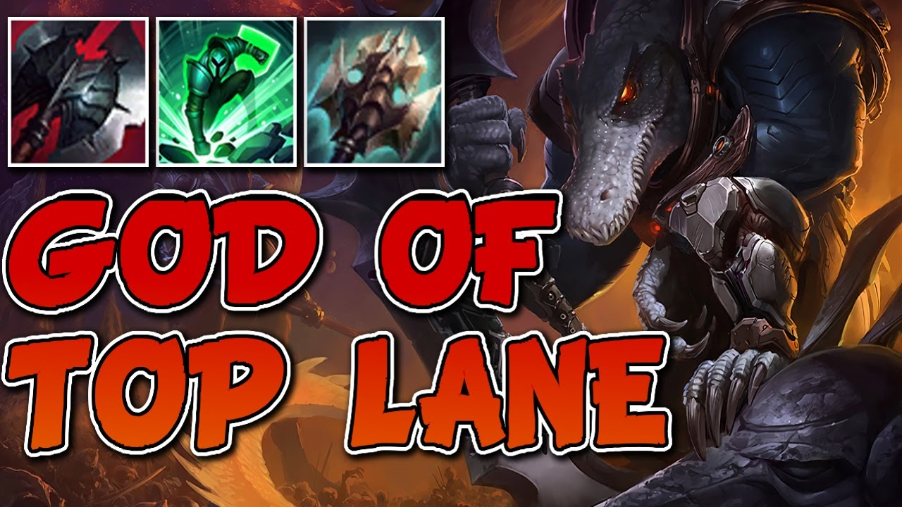 The King Is Back Renekton God Of Top Season 7 League Of Legends Gameplay Youtube
